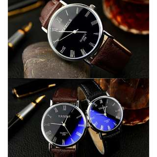 Yazole Couple Watch Black