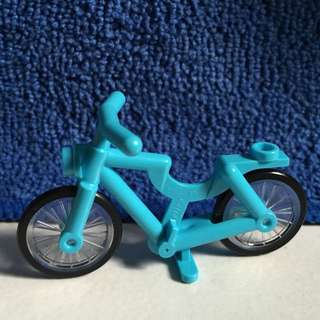 Brand New Lego Bicycle - Red And Azure Colour