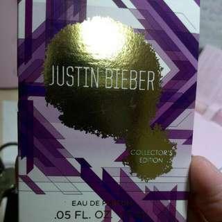 Justin Bieber  collector's Edition 小香