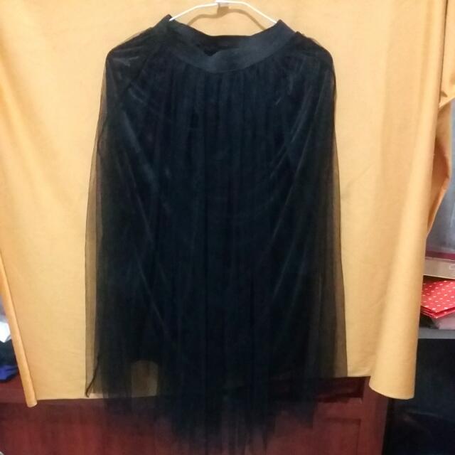 (九成新)長紗裙