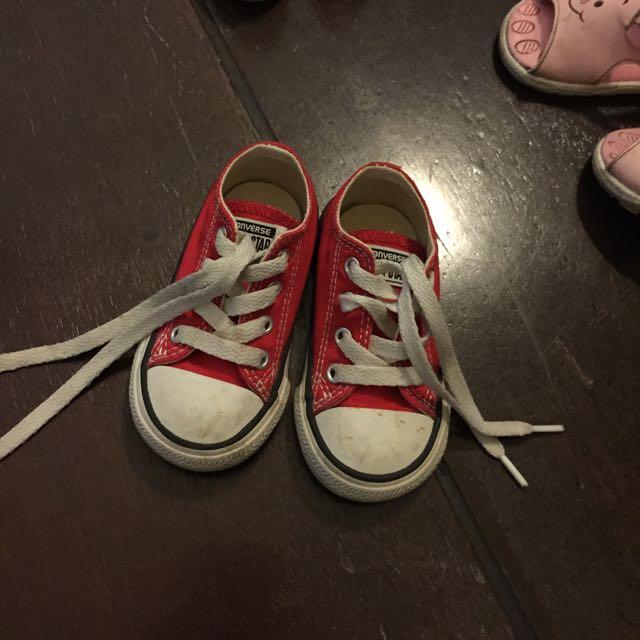 二手匡威寶寶鞋子