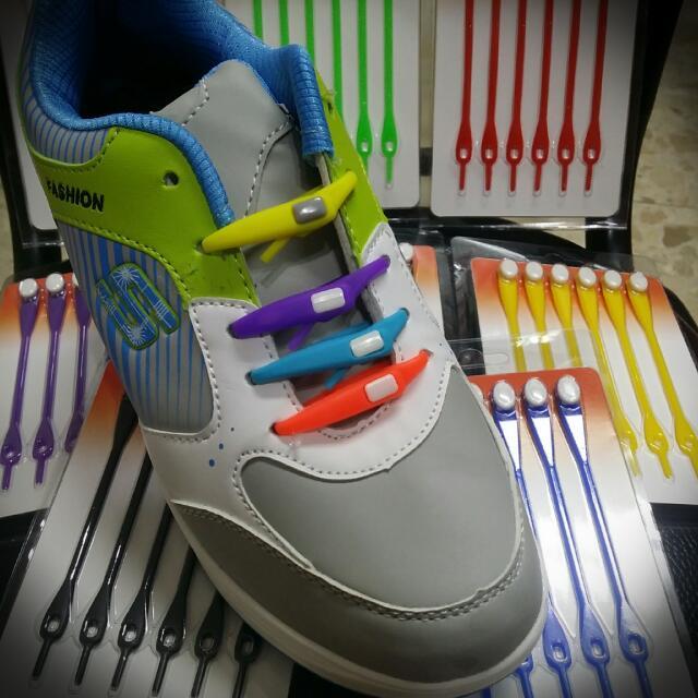 魔術彈力鞋帶-全新