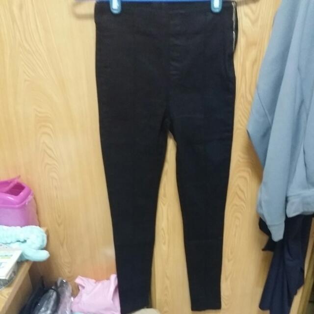 全新黑色長褲
