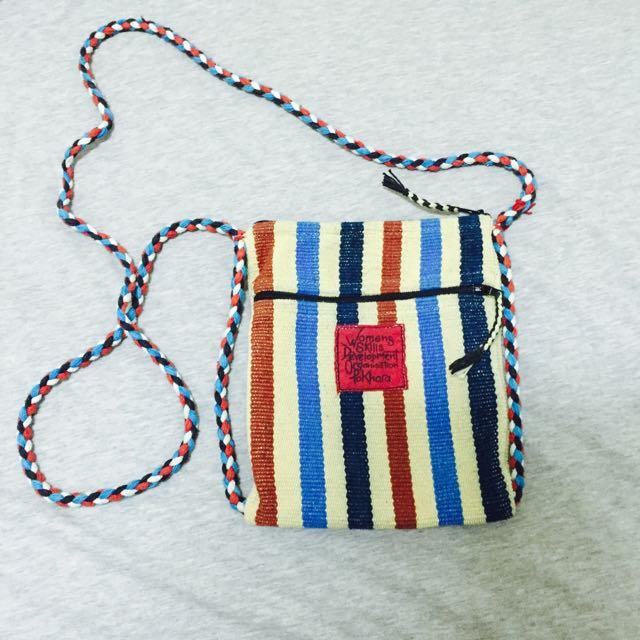 尼泊爾 手工 編織背包
