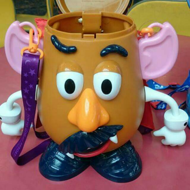 (降價)迪士尼 萬聖節特別版 蛋頭爆米花桶