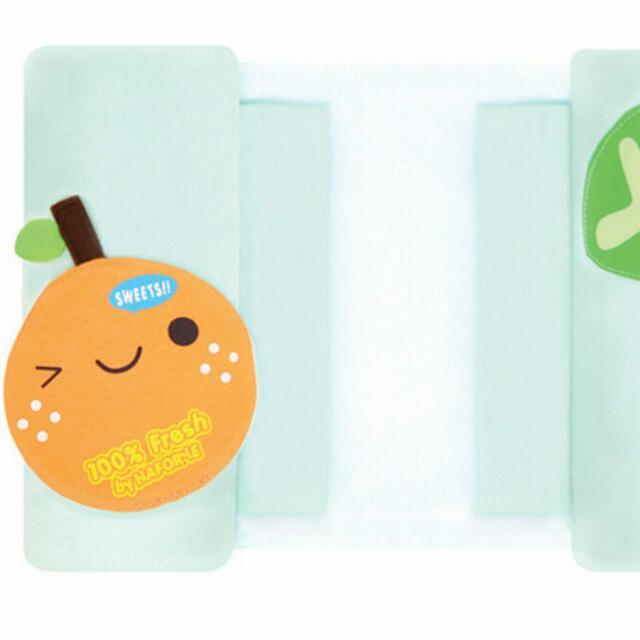 拉孚兒 Naforye 二手 造型蛋捲 側睡輔助枕 - 橘子