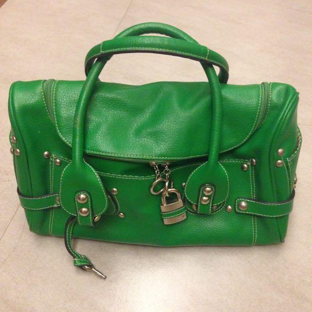 Chloe 款 鎖頭包🔒正綠色/下午茶.社交💯
