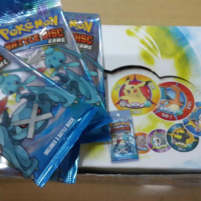 Disc Kertas Pokemon