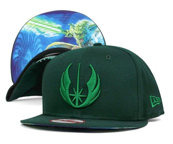 NEW ERA x STAR WARS SNAPBACK 星際大戰尤達大師 天行者 電繡棒球帽 全新正品 送透明帽盒&棒球帽鑰匙圈