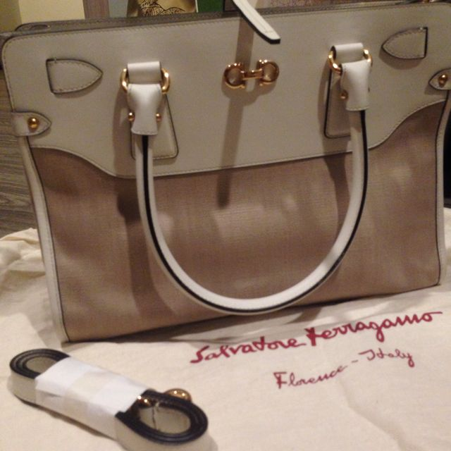 bd8eb8a2d6 Salvatore Ferragamo Handbag For Working Class Ladies. Brand New ...