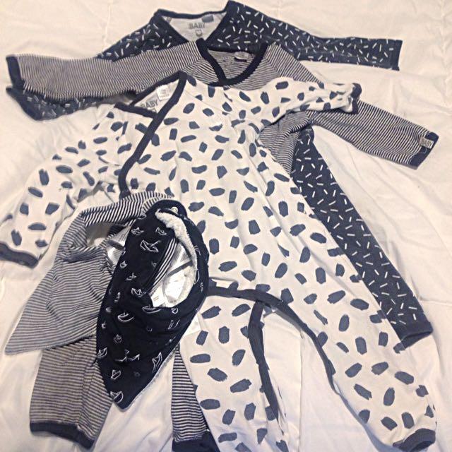 (PENDING)Sz 1 Boys Clothing Lot Cotton On