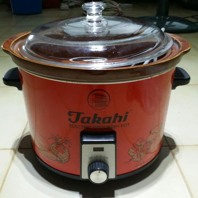 ... Takahi Slow Cooker 2.4 L (Red). Source · photo photo .