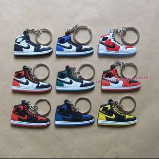 (預)Jordan塑膠片吊飾 鑰匙圈