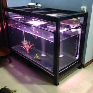Two Tier Tank Stand For 5 x 2.5 x 2.5