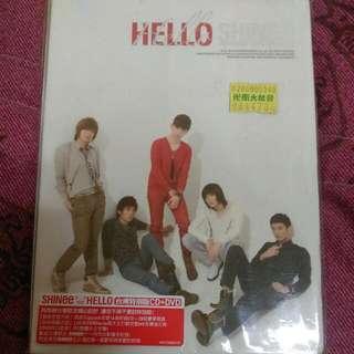 SHINee HELLO專輯台灣特別版CD+DVD