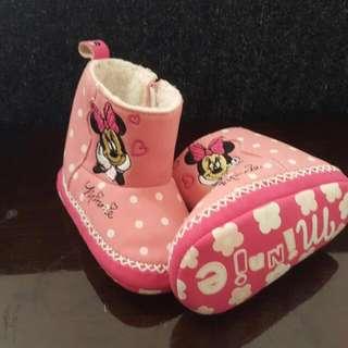 【含運】迪士尼 寶寶學步鞋 米妮