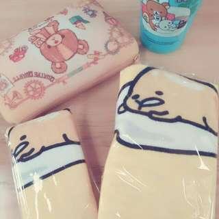 可愛蛋黃哥浴巾/毛巾