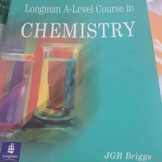Longman A-Level Course in Chemistry