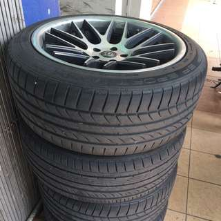 """19"""" Sport Rims With Tires"""
