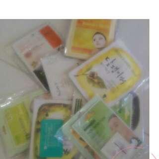 face mask packs (lucky dip) ♡(=^ ^=)♡