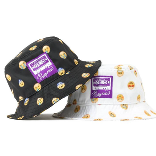 Emoji Dots Bucket Hat
