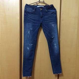 全新牛仔褲x2