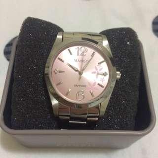 [used]MANGO金屬錶帶氣質女錶