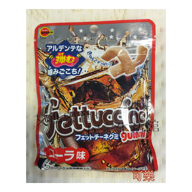 北日本*長條軟糖50g - 可樂味 /白葡萄/水蜜桃