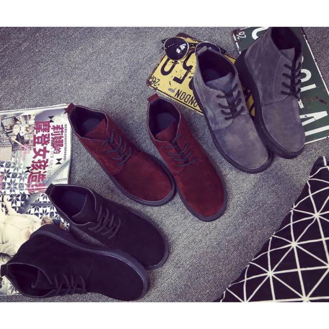 ★★★英倫低跟短靴