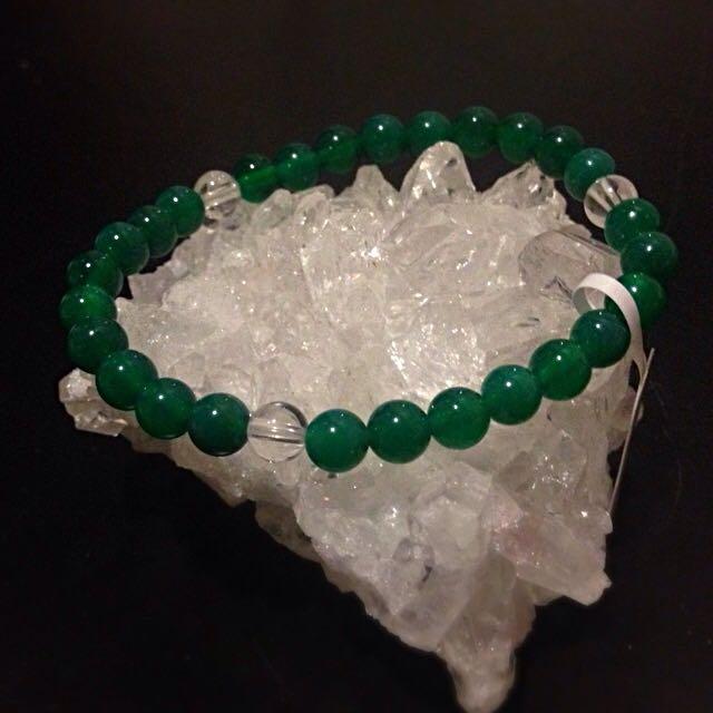 Green Agate - Power Stone
