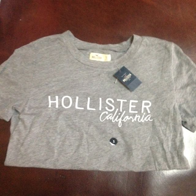 Hollister 灰 T恤