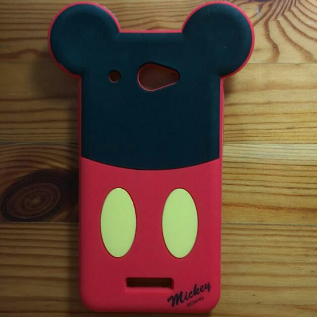 (保留)htc Butterfly 迪士尼米奇/美樂蒂 果凍套.保護套.手機殼
