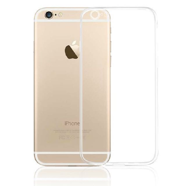 iPhone 6 6s 超薄 TPU透明保護軟套 防塵 + 鏡頭保護