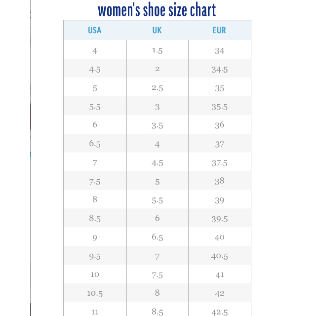 kate spade size chart - The future