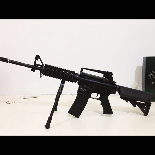 MONSTER SPECIAL TACTICAL WEAPON (M4 AEG CUSTOM) 生存遊戲 槍