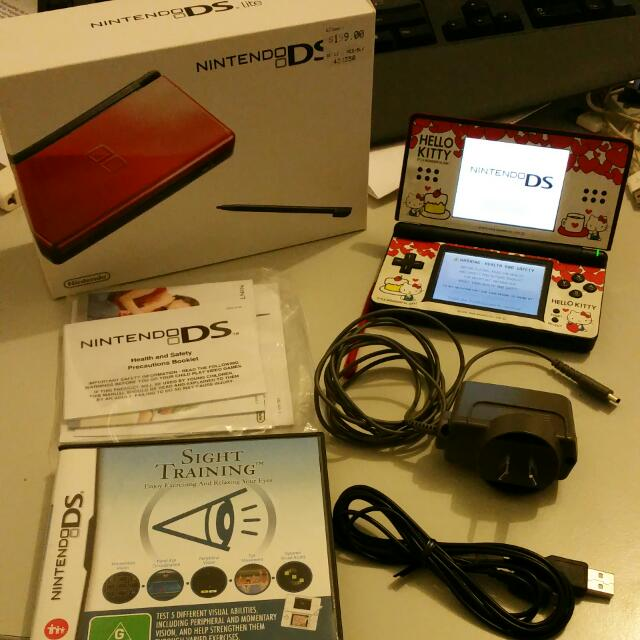 Nintendo DS with Sight Training Game