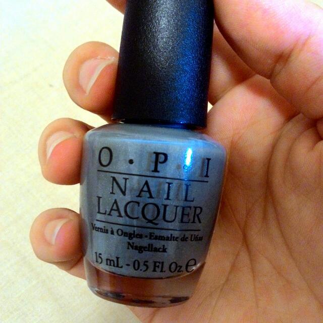OPI 指甲油 NL H58 灰藍色 (已預訂)