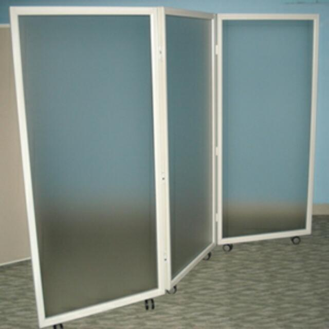 Mobile Partition Privacy Screen Panel Room Divider