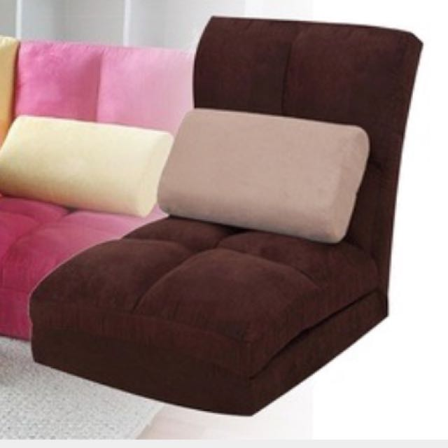 Self Collect Recliner Sofa Bed Dark Brown
