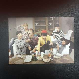Beast B2ST official photo card ( 7 pic) + sticker
