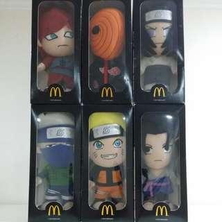 Naruto Soft Toy Set