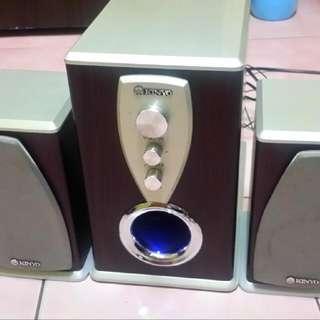 KY-800A 木質三件式喇叭