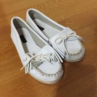 Air Space白色休閒鞋