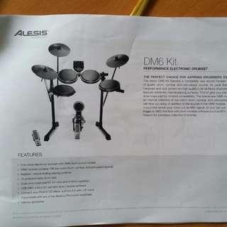 Pending -  Electronic Drum Set DM6