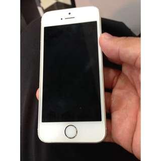 Iphone5s金色 32G 附充電線(誠可議)