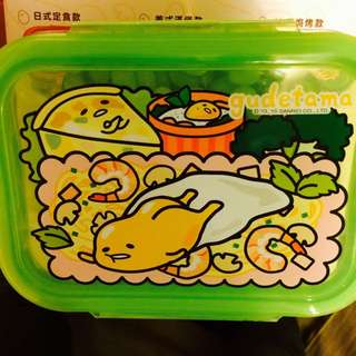 已換出 7-11 蛋黃哥 保鮮盒/便當盒