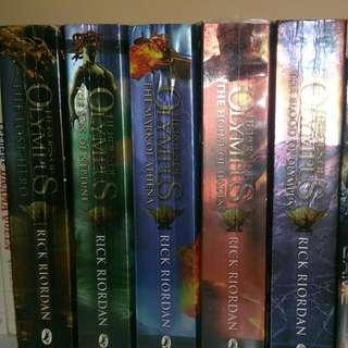 Pre Love Percy Jackson Series