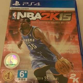 NBA2K15 PS4版