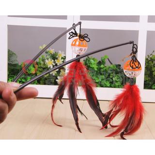 【加購產品】逗貓棒/貓玩具/貓棒子/老鼠玩具/鈴鐺/羽毛/顏色隨機。