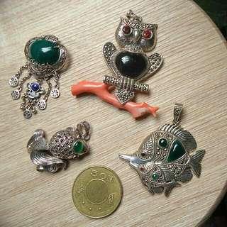 (全新含運)925銀飾銀墜